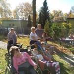Odpoczynek w naszym ogrodzie